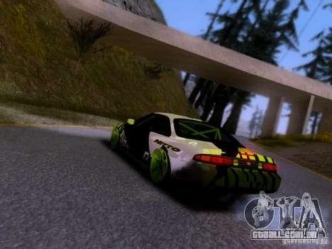 Nissan Silvia S14 Matt Powers v3 para GTA San Andreas esquerda vista