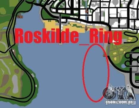 Anel de Roskilde para GTA San Andreas quinto tela