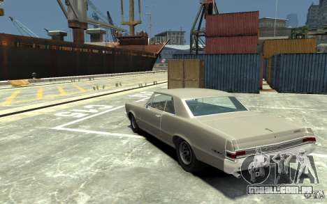 Pontiac GTO v1.1 para GTA 4 traseira esquerda vista