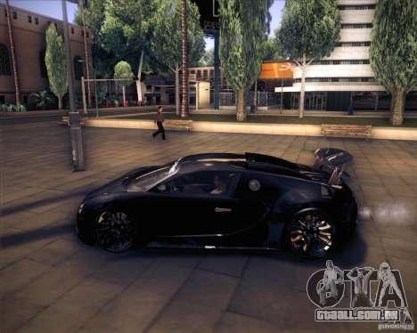 Bugatti Veyron Super Sport para GTA San Andreas vista interior