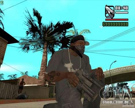Armas de Pak de Fallout New Vegas para GTA San Andreas sexta tela