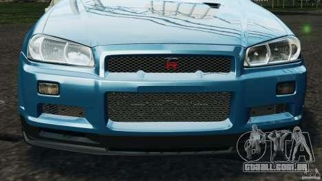 Nissan Skyline GT-R R34 2002 v1.0 para GTA 4 motor