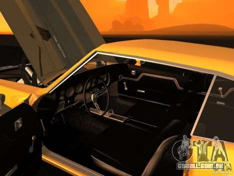Chevrolet Chevelle SS 1970 v.2.0 pjp1 para GTA San Andreas vista traseira