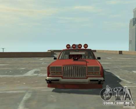 Greenwood sintonizado de San Andreas para GTA 4 vista de volta