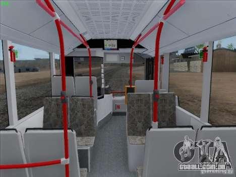 Design X4 para GTA San Andreas vista traseira