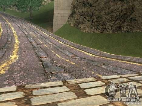 Novas estradas em Vajnvude para GTA San Andreas segunda tela