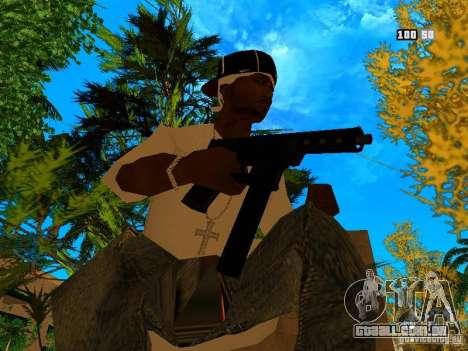 New Weapon Pack para GTA San Andreas quinto tela