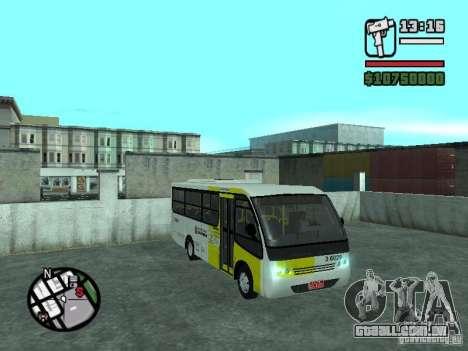 Induscar Caio Piccolo para GTA San Andreas vista traseira