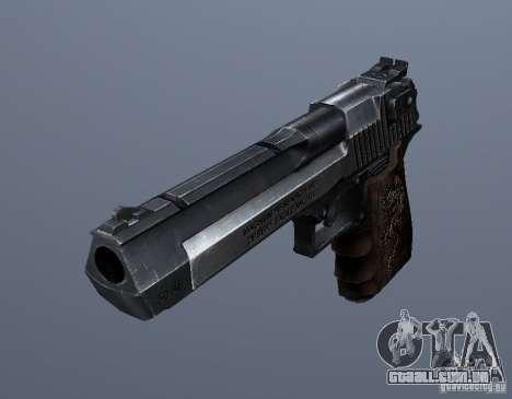 Desert Eagle - Old model para GTA San Andreas segunda tela