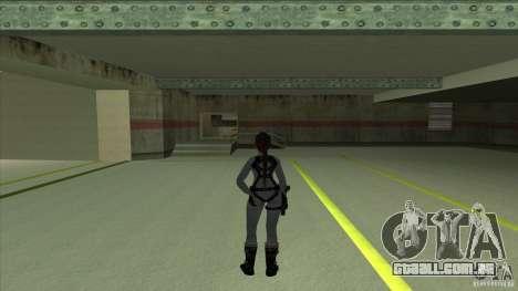 Lara Croft para GTA San Andreas segunda tela