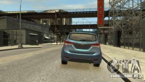 Hyundai IX20 2011 para GTA 4 vista de volta