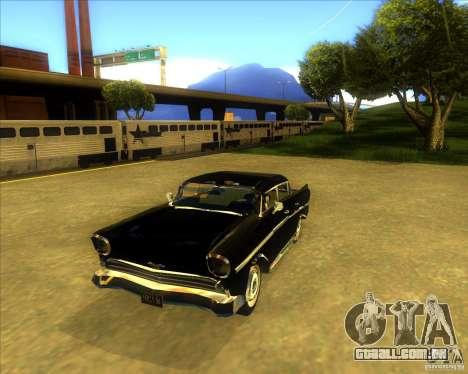 Hollywood para GTA San Andreas vista traseira