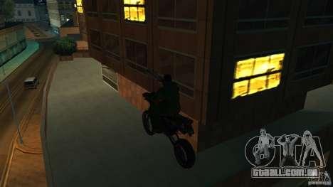 Motocicleta Mirabal para GTA San Andreas vista direita