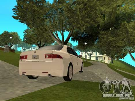 Honda Accord Type S 2003 para GTA San Andreas esquerda vista