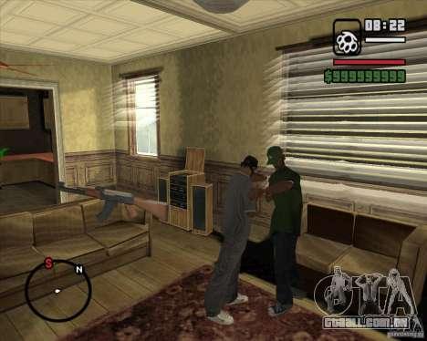 Greetings 2U: GS para GTA San Andreas sexta tela