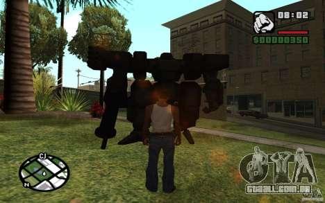 Exoesqueleto para GTA San Andreas segunda tela