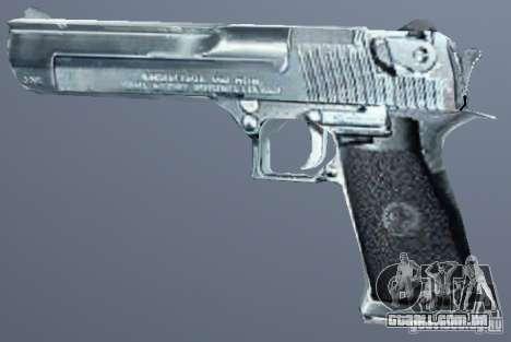 Deserto águia de prata para GTA San Andreas segunda tela