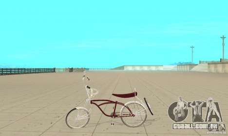 Low Rider Bike para GTA San Andreas esquerda vista