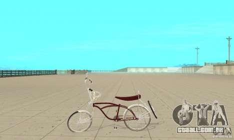 Low Rider Bike para GTA San Andreas esquerda vista