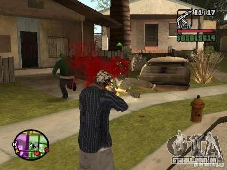Overdose effects V1.3 para GTA San Andreas por diante tela