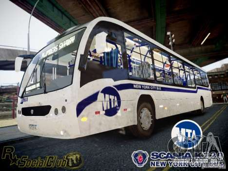 Scania K230 MTA New York City Bus para GTA 4