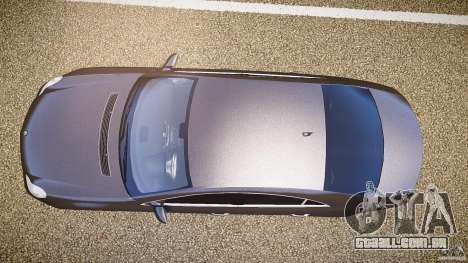Mercedes-Benz CLS 63 para GTA 4 vista de volta