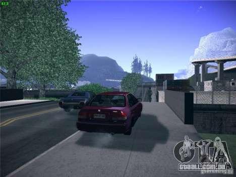 Honda Civic Sedan 1997 para GTA San Andreas esquerda vista