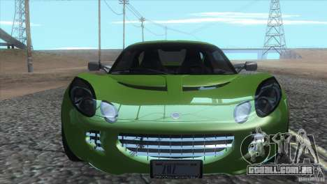 Lotus Elise para GTA San Andreas vista superior