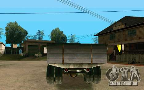 GAZ-AA para GTA San Andreas traseira esquerda vista