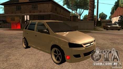 Opel Corsa Tuning Edition para GTA San Andreas vista traseira