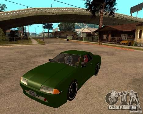 Elegy Green Line para GTA San Andreas