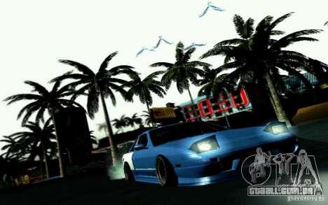 Nissan S13 Onevia para vista lateral GTA San Andreas