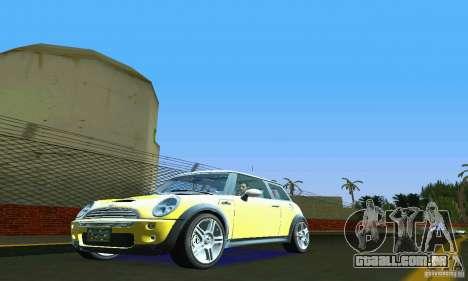 Mini Cooper S para GTA Vice City