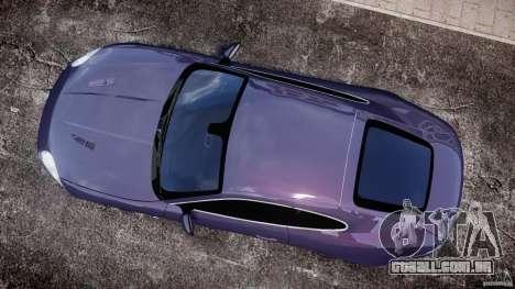 Jaguar XKR-S para GTA 4 vista direita