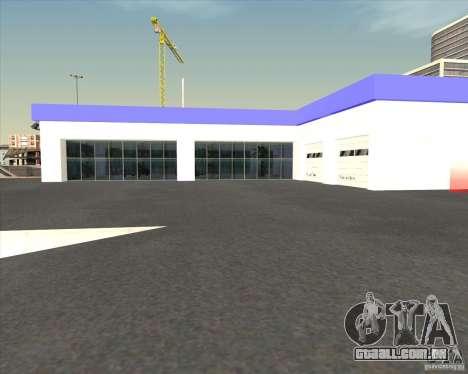 AMG showroom para GTA San Andreas terceira tela