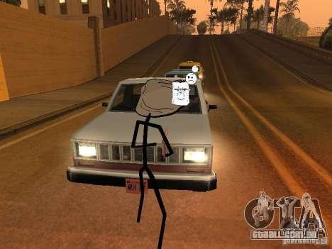 Meme Ivasion Mod para GTA San Andreas sexta tela