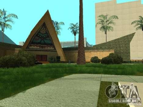 Novas texturas para casino peregrino para GTA San Andreas sexta tela