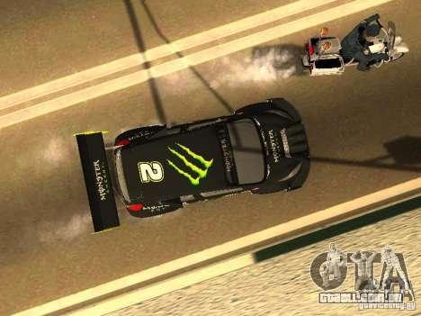 Ford Fiesta Rally Time para vista lateral GTA San Andreas