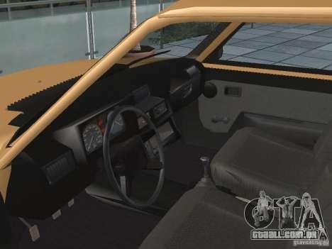 ZAZ Tavria 1103 para GTA San Andreas vista traseira
