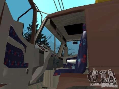 BMC para GTA San Andreas vista traseira