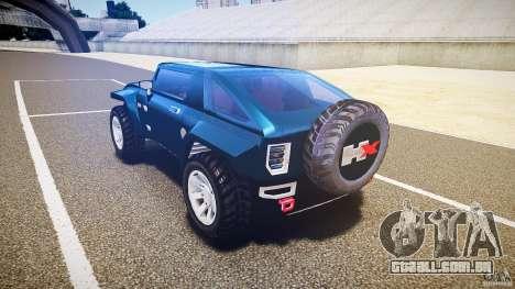 Hummer HX para GTA 4 traseira esquerda vista