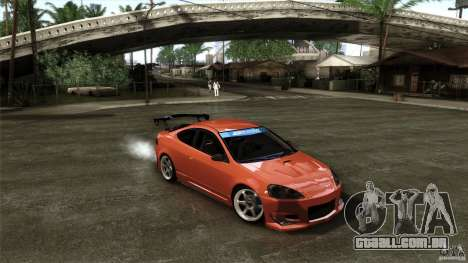 Acura RSX Spoon Sports para GTA San Andreas