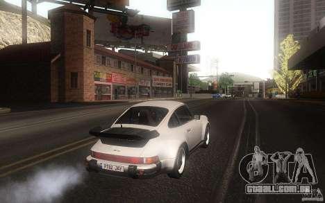 Porsche 911 Turbo 1982 para GTA San Andreas vista direita