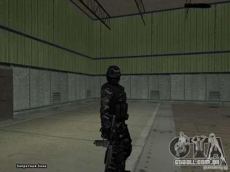 New Army para GTA San Andreas terceira tela