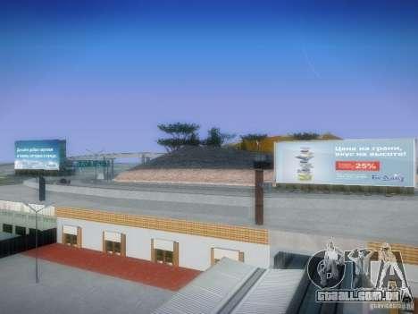 Novos cartazes em todo o estado para GTA San Andreas terceira tela