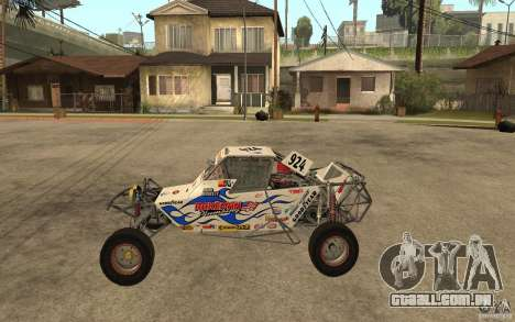 CORR Super Buggy 2 (Hawley) para GTA San Andreas esquerda vista
