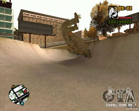 Parkour discipline beta 2 (full update by ACiD) para GTA San Andreas quinto tela