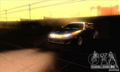 Toyota Supra para GTA San Andreas vista superior