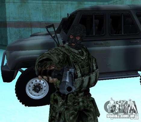 STALKER Shadow of Chernobyl SWAT OGSE para GTA San Andreas