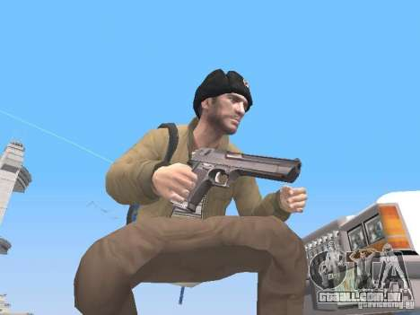 HQ Weapons pack V2.0 para GTA San Andreas segunda tela